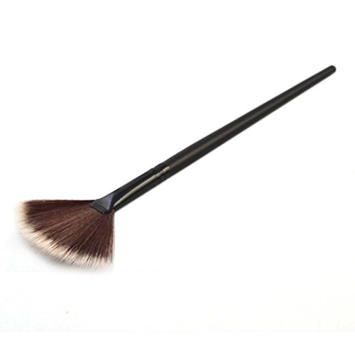 Sunnywill 1 pc-Lüfter Pinsel Portable Slim Profi Make-up Pinsel für Mädchen Frauen Damen