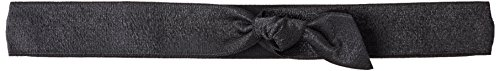 EMI JAY Headband Large Black Satin