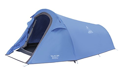 Vango Talas 200 Two Man Tent-2 Person - Tiendas de campaña de túnel, color verde, talla NA