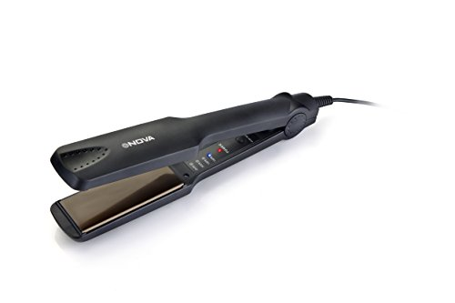 Nova NHS 860 Temperature Control Hair Straightener (Black)