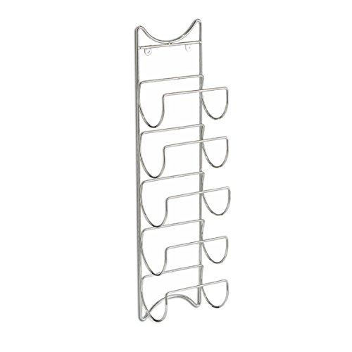 zeller-27373-porta-bottiglie-cromata-in-metallo-15-x-105-x-61-cm