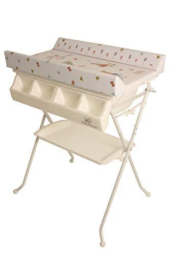 BabeChamp i-Bath - Mesa cambiadora plegable para bebé, precio de venta Euro 3,99 + costo de envío Euro 63,50 (My Little Farm)