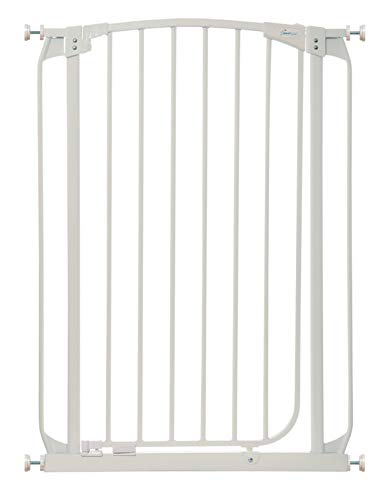 Dreambaby F190W Chelsea extra hohes Treppenschutzgitter / Türschutzgitter (71-80cm) weiß