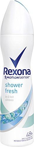 Rexona Deospray Shower Fresh Anti-Transpirant, 6er Pack (6x 150 ml)