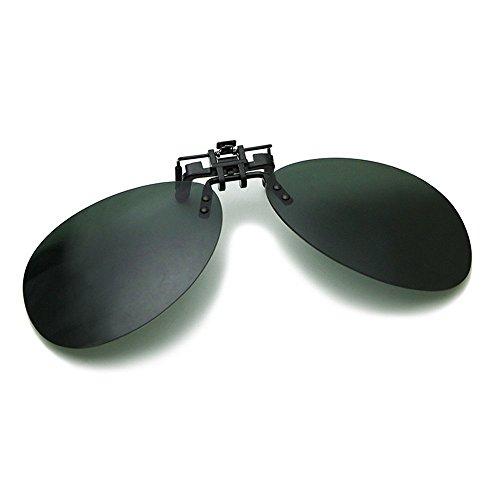 L'uomo, donna, occhiali da sole generali,, moda, tempo libero, all'aperto, clip di miopia, il nero, (Owl Clip Di Carta)