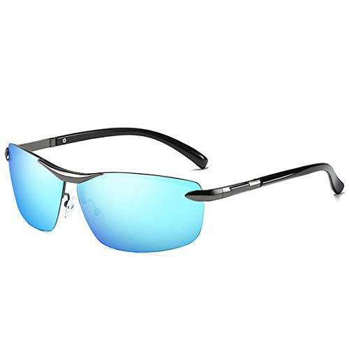 Lidahaotin Coolsir Männer polarisierten UV400 Schutz Quadratische Sonnenbrillen Brillen-Legierung Rahmen Fahren Brillen 6#