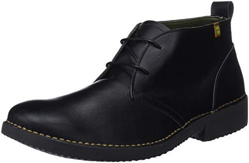 El Naturalista Ng21t Vegan Black/Cuero / Yugen, Zapatos de Cordones De