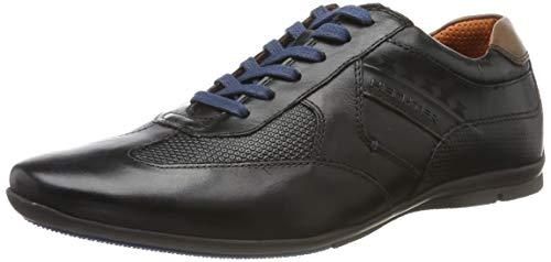 Daniel Hechter Herren 821248021010 Sneaker, Schwarz (Black/Brown 1060), 45 EU