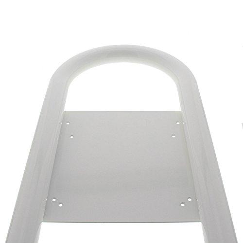 BURG-WÄCHTER, Rohrbogen Briefkasten-Ständer, Aluminium, Rondo 145 W, Weiß - 4