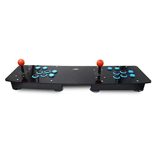 Juego de Arcade Juegos Retro de Consola Preinstalados Todo en uno 16 Teclas Plug & Play Azul y Negro
