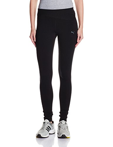 PUMA Damen Hose ST Essential Long Tights,Black, S, 512814 01 (Long Baumwolle Tight)