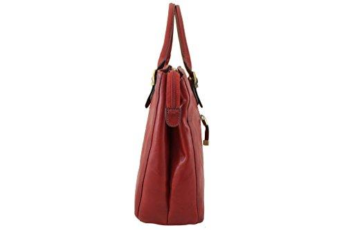 Sac shopping Katana en cuir de Vachette collet K 82534 Noir