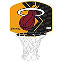 Spalding NBA Miami Heat Miniboard + Ball