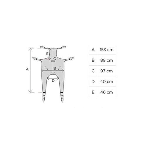 31xuUHPLgcL - Grúa eléctrica para elevación y traslado de pacientes y mayores hasta 180 kg