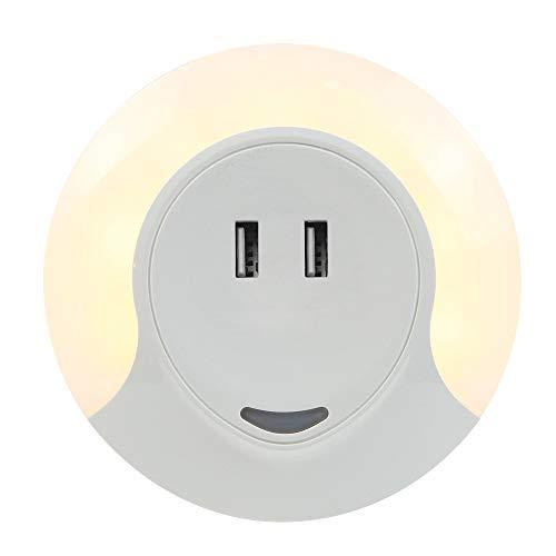 SLOSH Luce Notturna Sensor Crepusculo Caricatore USB
