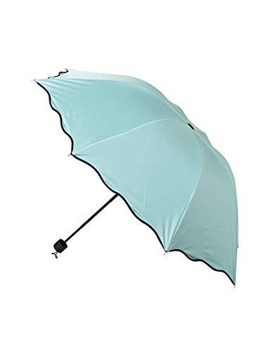 SCJS Umbrella Fashion Umbrella Windproof Sonnenschutz Flower Dome Proof Sonnenschirm Sun Rain Taschenschirme -