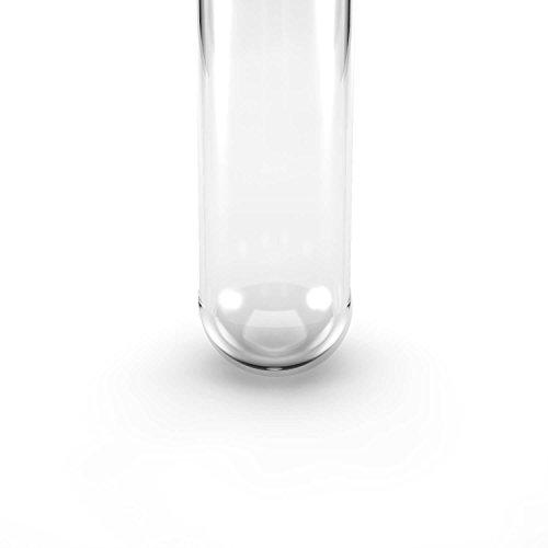 Kunststoff Reagenzgläser mit Natur-Korken | 100 Stück