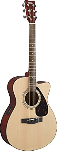 Yamaha FSX315C - Guitarra electroacústica, controles volumes, toner y tuner, Beige