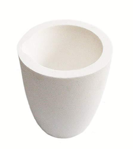 LLF Keramik Schmelztiegel Tasse Ofen Schmelzen Gießen verfeinert Gold Silber Kupfer Gussbecher 2000 g