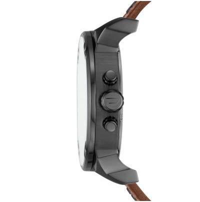 Diesel Reloj Cronógrafo para Hombre de Cuarzo con Correa en Cuero DZ7413
