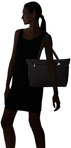 Picard Damen Tiptop Shopper, 50 x 28 x 12 cm Schwarz (Schwarz)