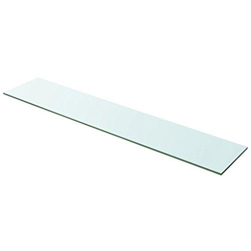 Festnight Ersatzteile Glas Regalboden Glasboden Glas Einlegeboden Max. Tragfähigkeit 15 kg 100 x 20...