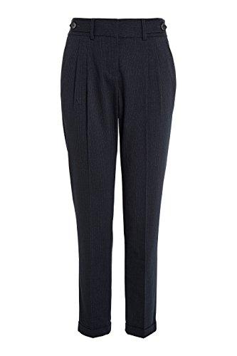 next Donna Pantaloni affusolati a righe Blu Navy
