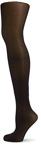 KUNERT Damen Glanz Fein Strumpfhose, 337600 Leg Control 70, Gr. 42/44, Schwarz (Black 0500)