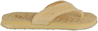 Nike Celso Thong Leather chanclas chanclas playa Guantes 309997 - 771 Beige Tamaño 42,5/US 9/UK 8