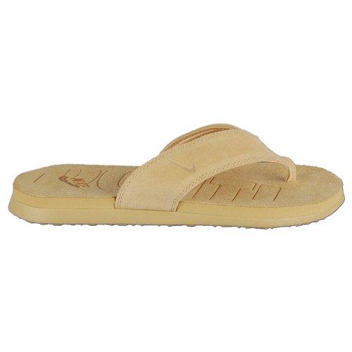 Nike Celso Thong Leather Zehentrenner Badelatschen Strandschuhe 309997-771 Beige Größe 42,5 / US 9 / UK 8
