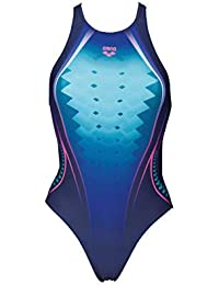 Schwimmen arena Fluids One Piece Swimsuit Women navy-persian green 2018 Schwimmanzug blau
