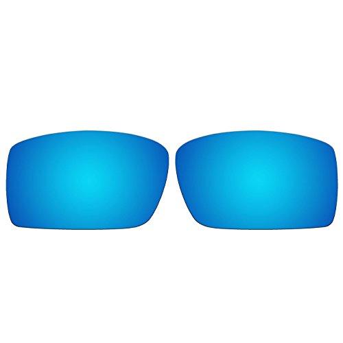 Ersatzgläser für die Oakley Gascan-Sonnenbrille (nicht passend für Gascan S), von Acompatible, Ice Blue Mirror - Polarized, S