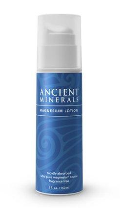 Magnesium Lotion (8 oz) - Ancient Minerals -