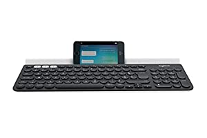 Logitech k780 Multi-Device Wireless Keyboard Tastiera Layout Belgian