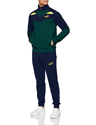 Puma Herren Iconic Tricot Suit Cl Trainingsanzug, Ponderosa Pine, XL