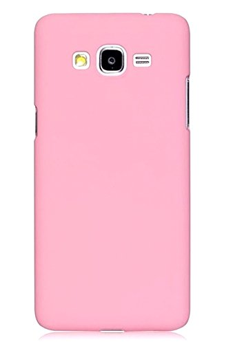 WOW Imagine(TM) Rubberised Matte Hard Case Back Cover For SAMSUNG GALAXY GRAND PRIME SM-G530 (Baby Pink)  available at amazon for Rs.169