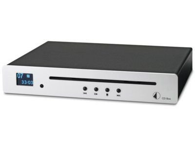 Pro-Ject CD Box CD-Player (LC-Display) silber