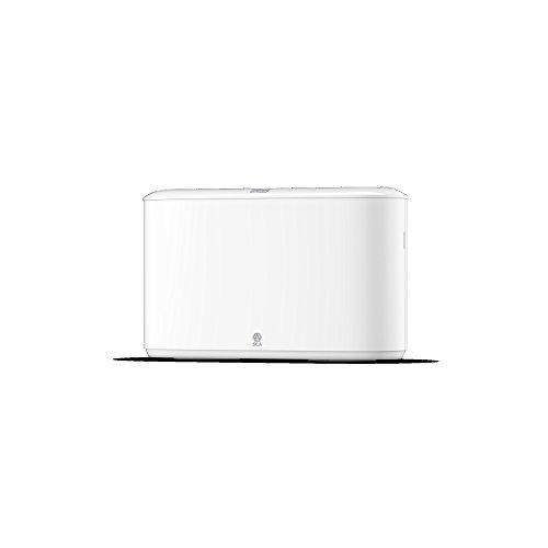 Tork 552200 Xpress Papiertuchspender für H2 Multifold Papierhandtücher im Elevation Design - Tischspender für hygienische, sparsame Einzeltuchentnahme - schlagfester Kunststoff in weiß