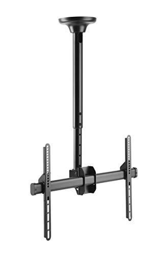 HALTERUNGSPROFI DH4002 Deckenhalterung Neigbar 360 Grad drehbar für 37 40 42 46 47 50 55 60 63 65 70 Zoll VESA bis 600 x 400 optimal für LCD LED Fernseher FullHD 4K UHD Lcd 50