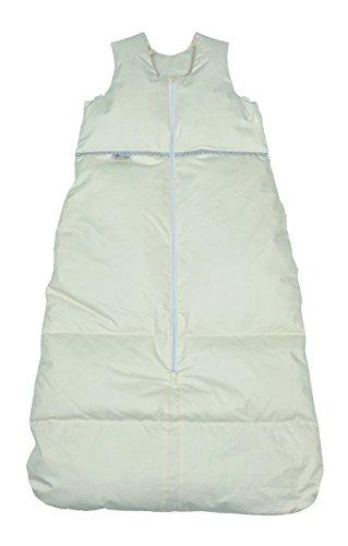 Premium Daunenschlafsack, längenverstellbar, Alterskl. älter 24 Monate, creme, 130 cm