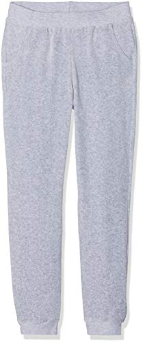 Sanetta Mädchen Schlafanzughose Pants Long, Grau (Hellgrau Melange 1646.0), 164