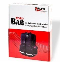 Rolko-BAG Rollstuhl Multitasche, Rollstuhl-Zubehör (Sauerstoff-flasche-tasche)