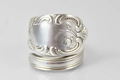 Rokoko Besteckschmuck Ring, ca. 58 (18,6) Ring aus Besteck