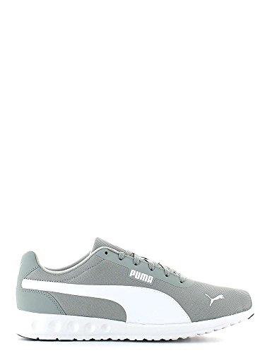 Puma, Unisexe Adulte, Fallon Gris Blanc, Tissu, Sneakers, Gris Gris