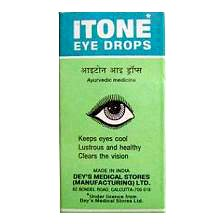Itone Eye Drops Keeps Eyes Cool Lustrous & Healthy Clears the Vision 10ml - 10 Ml Eye