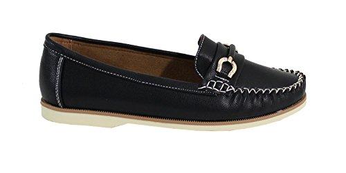 By Shoes - Damen Ballerinas Schwarz
