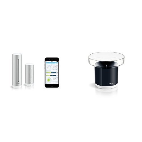 Kit Netatmo Station Météo pour Smartphone + Pluviomètre