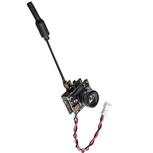 GOTOQOMO G131 5.8GHz 48CH 25mW Micro FPV Cámara AIO para FPV Drone / Quadcopter OSD Incorporado (Mostrar parámetros en la Pantalla)