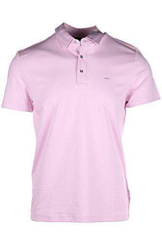 Michael Kors polo t-shirt maglia maniche corte uomo rosa EU XS (UK 34) CS65FGVC93 676