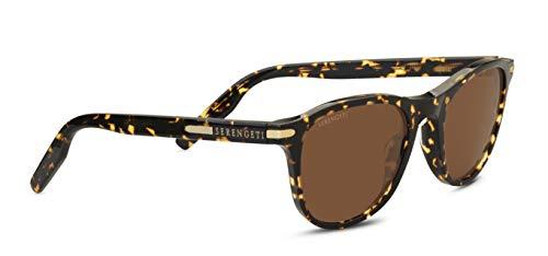 Serengeti Eyewear Erwachsene Andrea Sonnenbrille, Honey Tortoise, Small/Medium